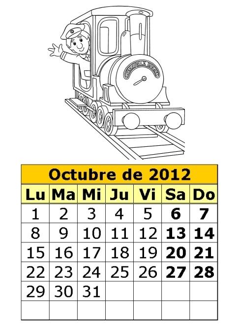 calendario-para-colorear-de-Pat-el-cartero-octubre-2012 ...