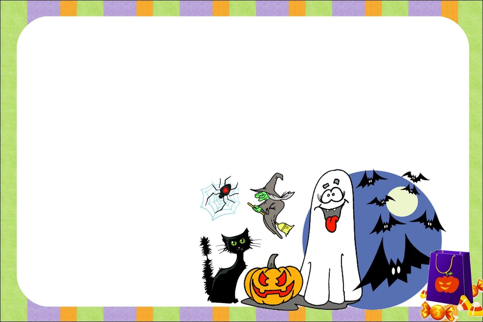 Famoso Imprimibles Gratis Para Halloween Patrón - Dibujos Para ...