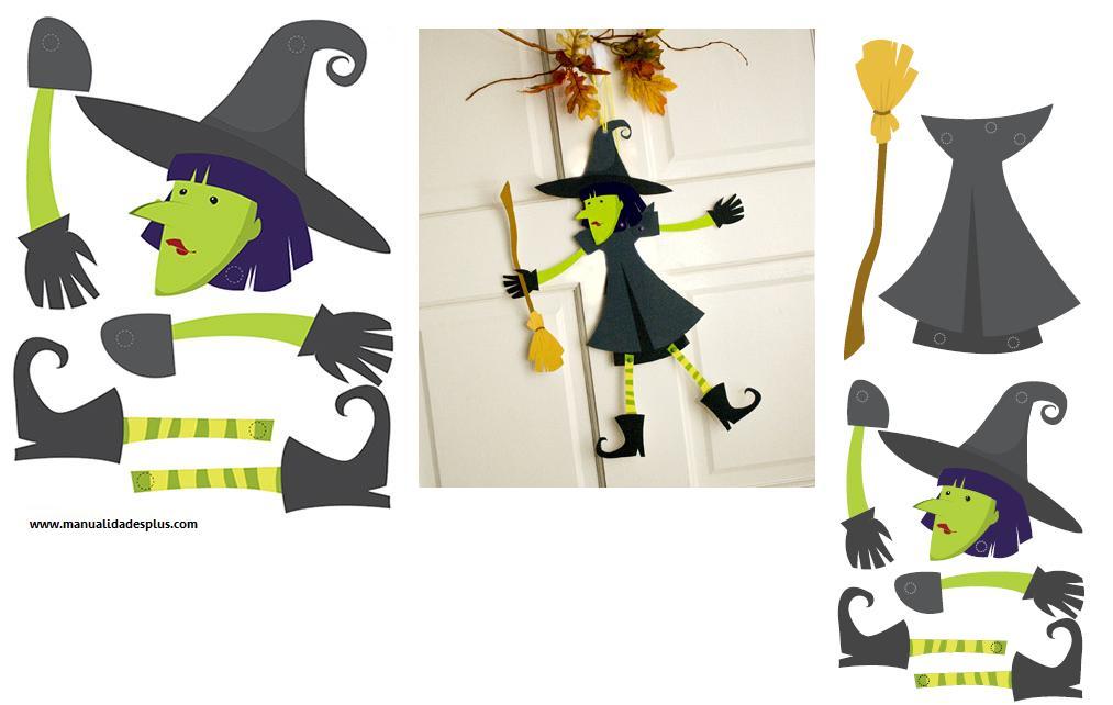 D a de todos los santos y halloween manualidades - Manualidades halloween faciles para ninos ...