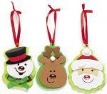 Adornos de Navidad en goma eva_varios2