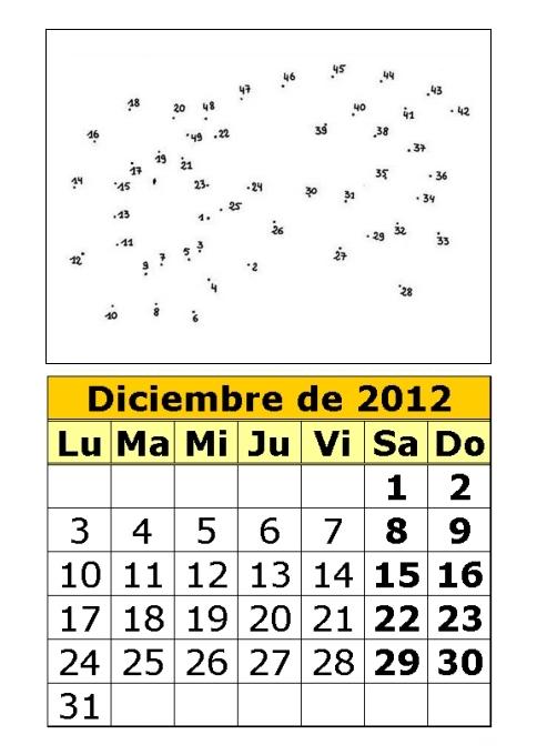 calendario-diciembre-2012-dibujos-para-colorear-unir-por-puntos ...