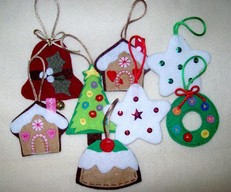 Adornos para el rbol de navidad christmas ornaments for Adornos navidenos para colorear y recortar