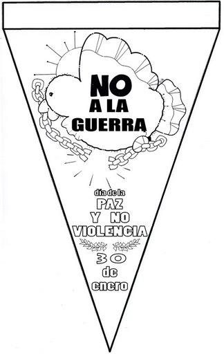 Dibujos para colorear de la Paz | laclasedeptdemontse