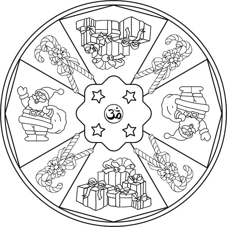 Mandalas de Navidad | laclasedeptdemontse