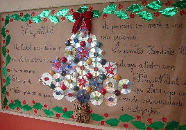 Hacer rboles de navidad make a christmast tree for Arbol de navidad mural