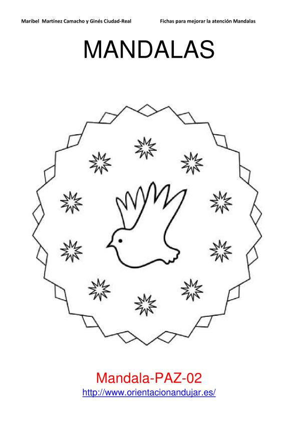 Mandalas de la paz | laclasedeptdemontse