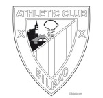 athletic-escudo-colorear