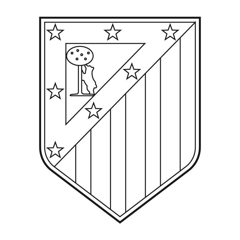 Escudos de fútbol para colorear | laclasedeptdemontse