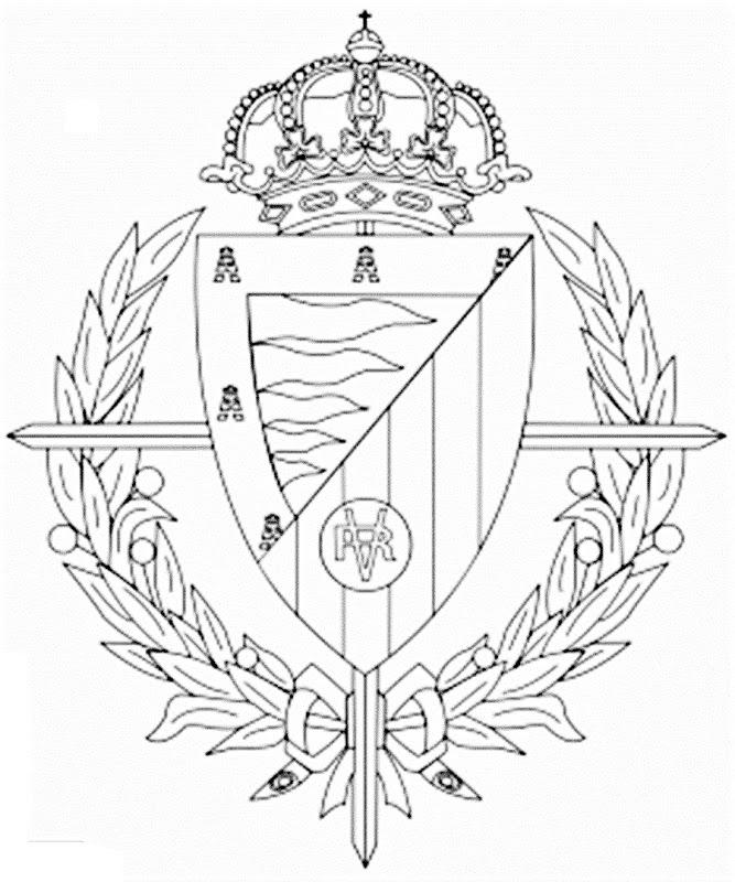 Escudo del Real Valladolid  laclasedeptdemontse