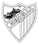 FC MALAGA PARA COLOREAR