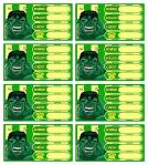 etiqueta libros hulk