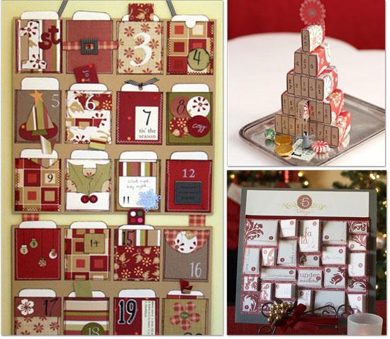 Giant Advent Calendar Ideas : Calendarios de adviento para hacer laclasedeptdemontse