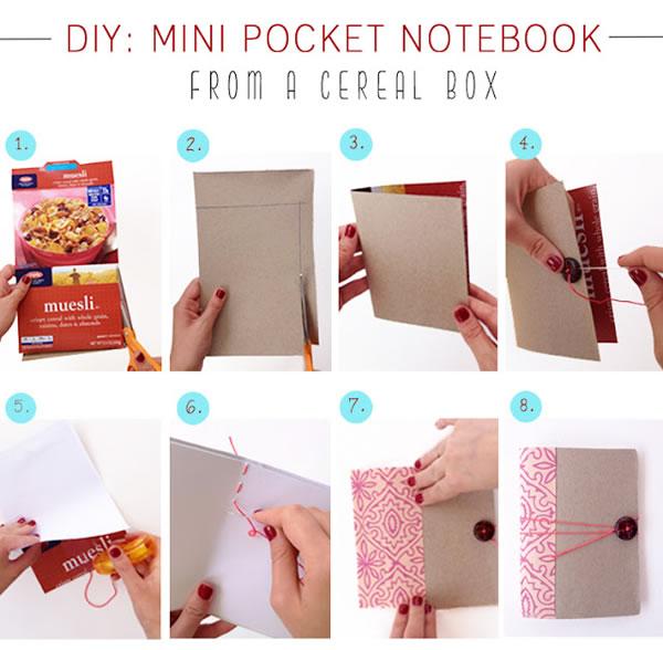 Manualidades Con Cajas De Cereales Y Con Paquetes De