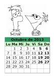 calendario-octubre-2013-Phineas-y-Fherb