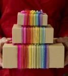 abramsbooks envolver regalos lana multicolor