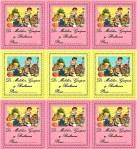 etiquetas vintage niños