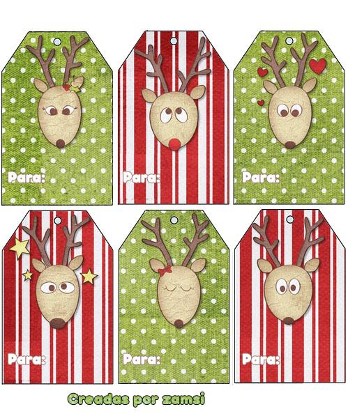 Etiquetas para los regalos de navidad laclasedeptdemontse - Etiquetas para regalos para imprimir ...