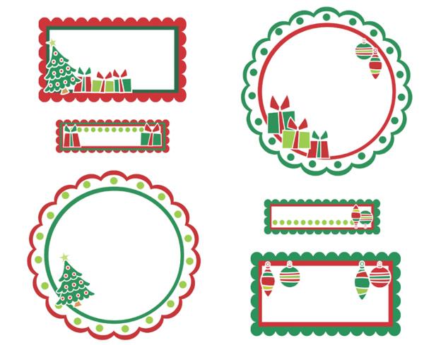 Etiquetas para los regalos de navidad laclasedeptdemontse for In regalo gratis