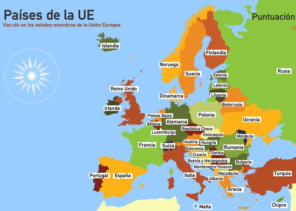 Mapas de europa para imprimir laclasedeptdemontse for Donde esta la comunidad de madrid