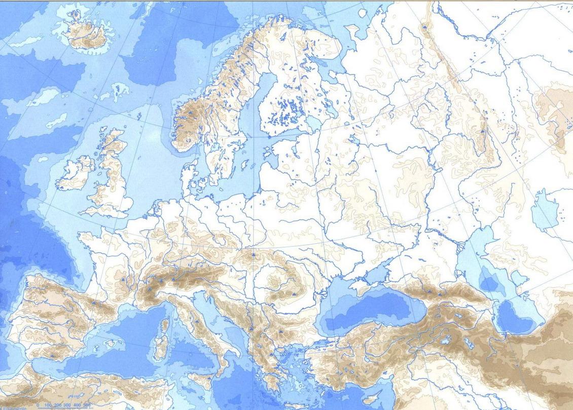 Mapas de Europa para imprimir  laclasedeptdemontse