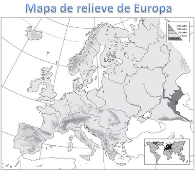 Mapa Mudo Fisico Europa Para Imprimir A4.Mapas De Europa Para Imprimir Laclasedeptdemontse