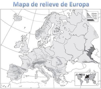 Mapas de Europa para imprimir | laclasedeptdemontse