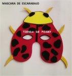 mascara escarabajo