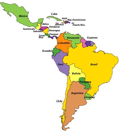 Mapas de Amrica para imprimir  laclasedeptdemontse