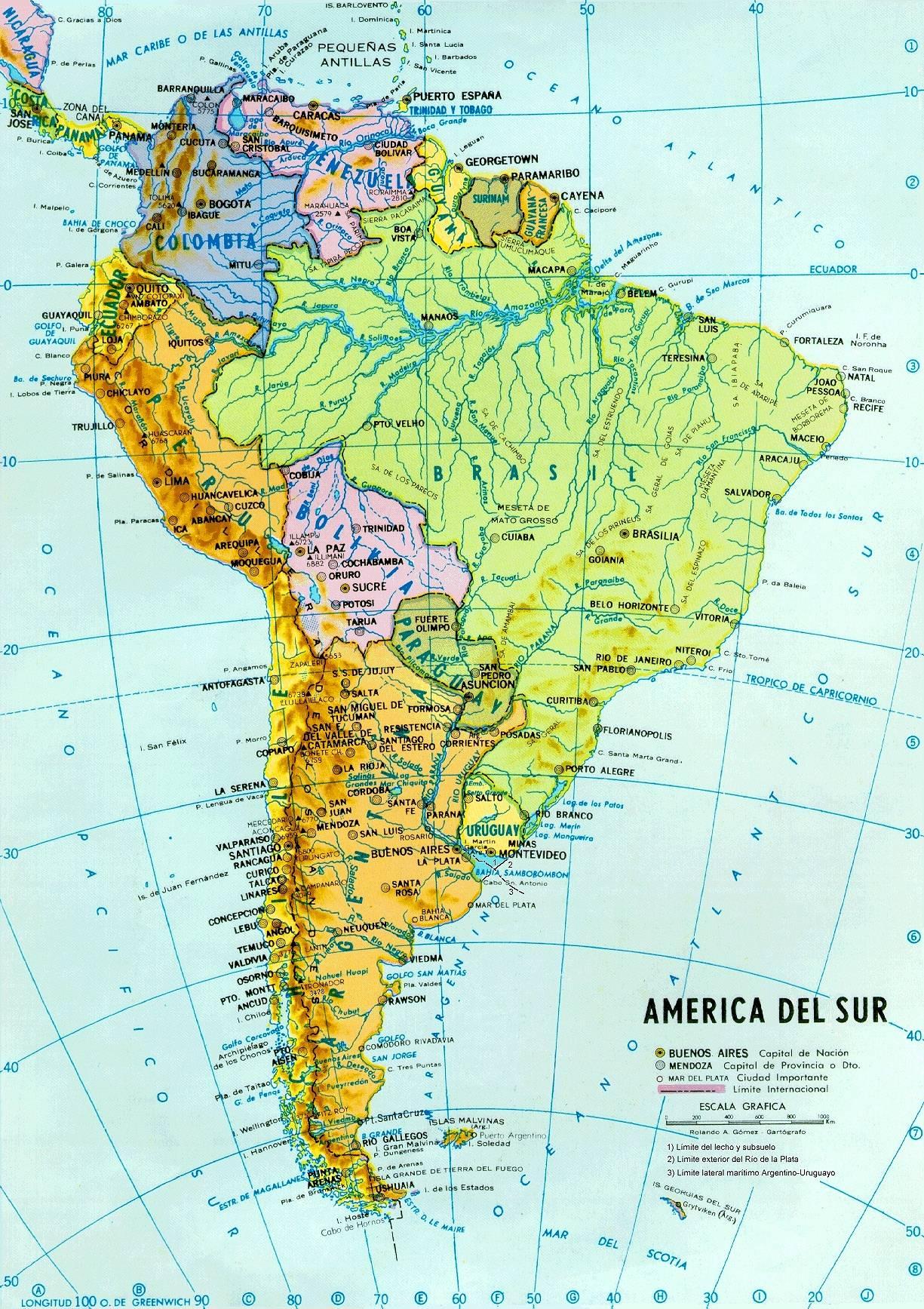 Mapas de am rica para imprimir laclasedeptdemontse - Microcementos del sur ...