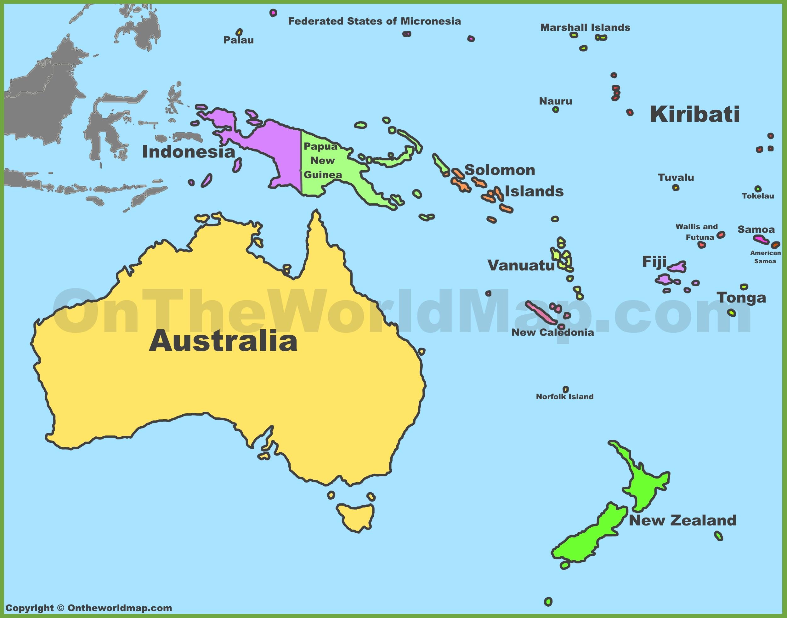 Atractivo Colorear Bandera De Australia Para Colorear Festooning ...