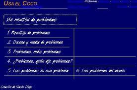 PROBLEMAS USA EL COCO