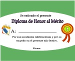 honor al mérito con medalla