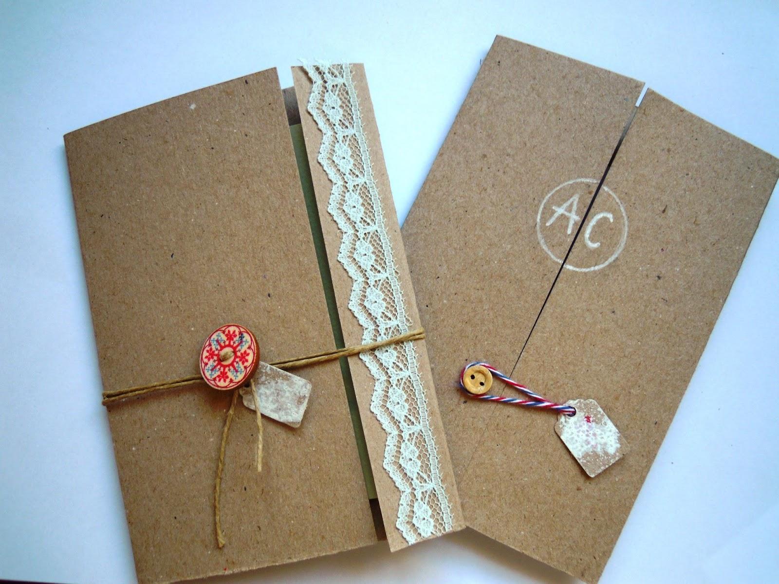 Invitaciones hechas mano ii l um7v7b laclasedeptdemontse for Trabajos artesanales para hacer en casa