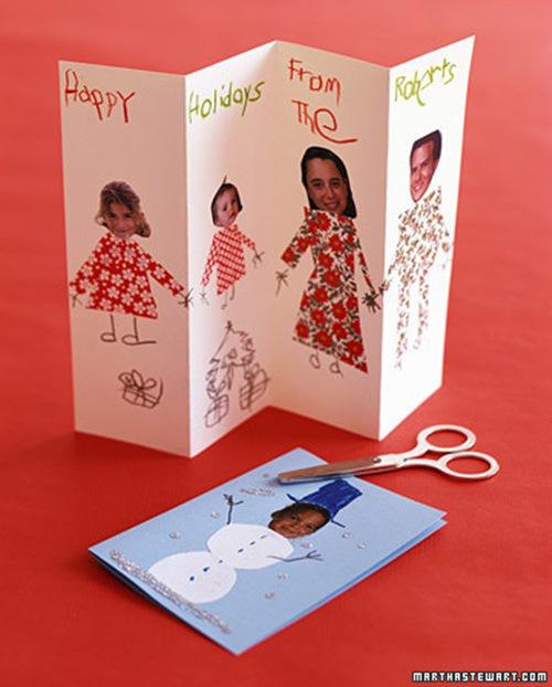 Tarjetas originales para hacer laclasedeptdemontse - Felicitaciones de navidad originales para ninos ...