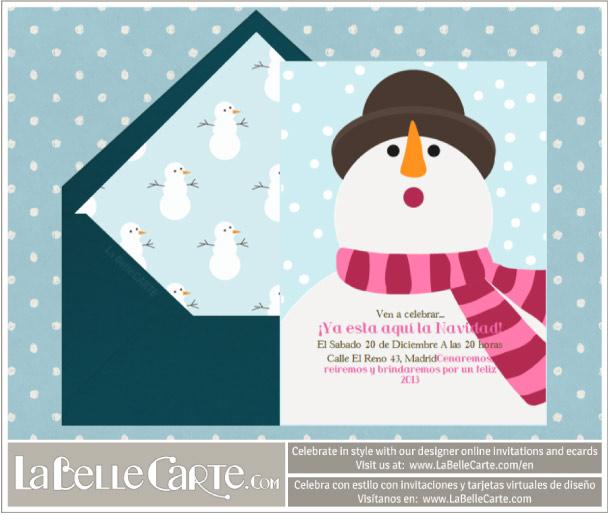 Tarjetas de navidad modernas felicitaciones de navidad - Postales navidenas originales ...