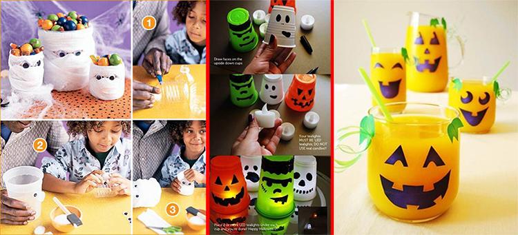 Manualidades f ciles de halloween laclasedeptdemontse - Decoracion con reciclaje para el hogar ...