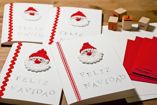 Tarjetas Navideas A Mano Tarjetas Navideas Hechas A Mano Handmade - Tarjetas-originales-para-navidad