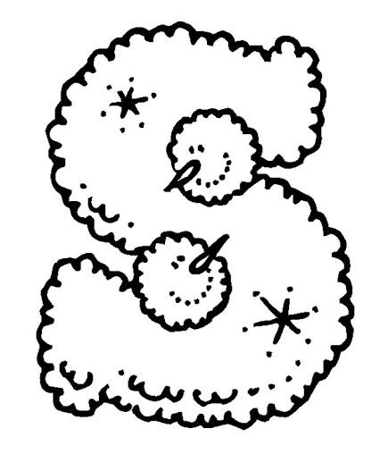 Abecedarios de Navidad para colorear | laclasedeptdemontse