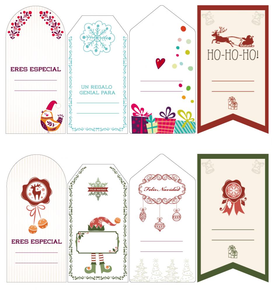 Más etiquetas para regalos | laclasedeptdemontse