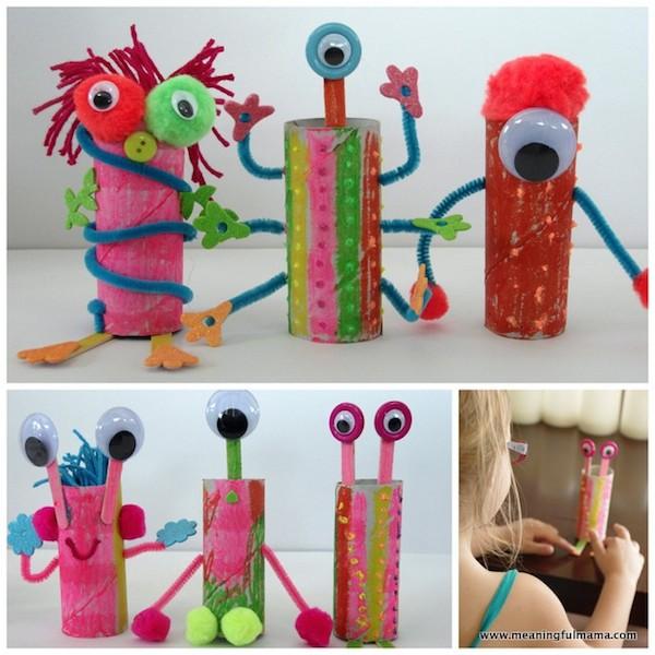 Hacemos juguetes con material de reciclaje laclasedeptdemontse - Manualidades con papel craft ...
