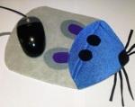 Alfombrilla con forma de ratón