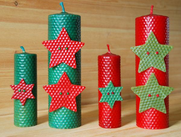 Manualidad de navidad velas laclasedeptdemontse for Cosas navidenas para hacer en casa