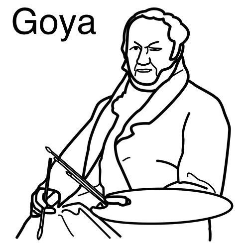 Goya para aprender y colorear | laclasedeptdemontse