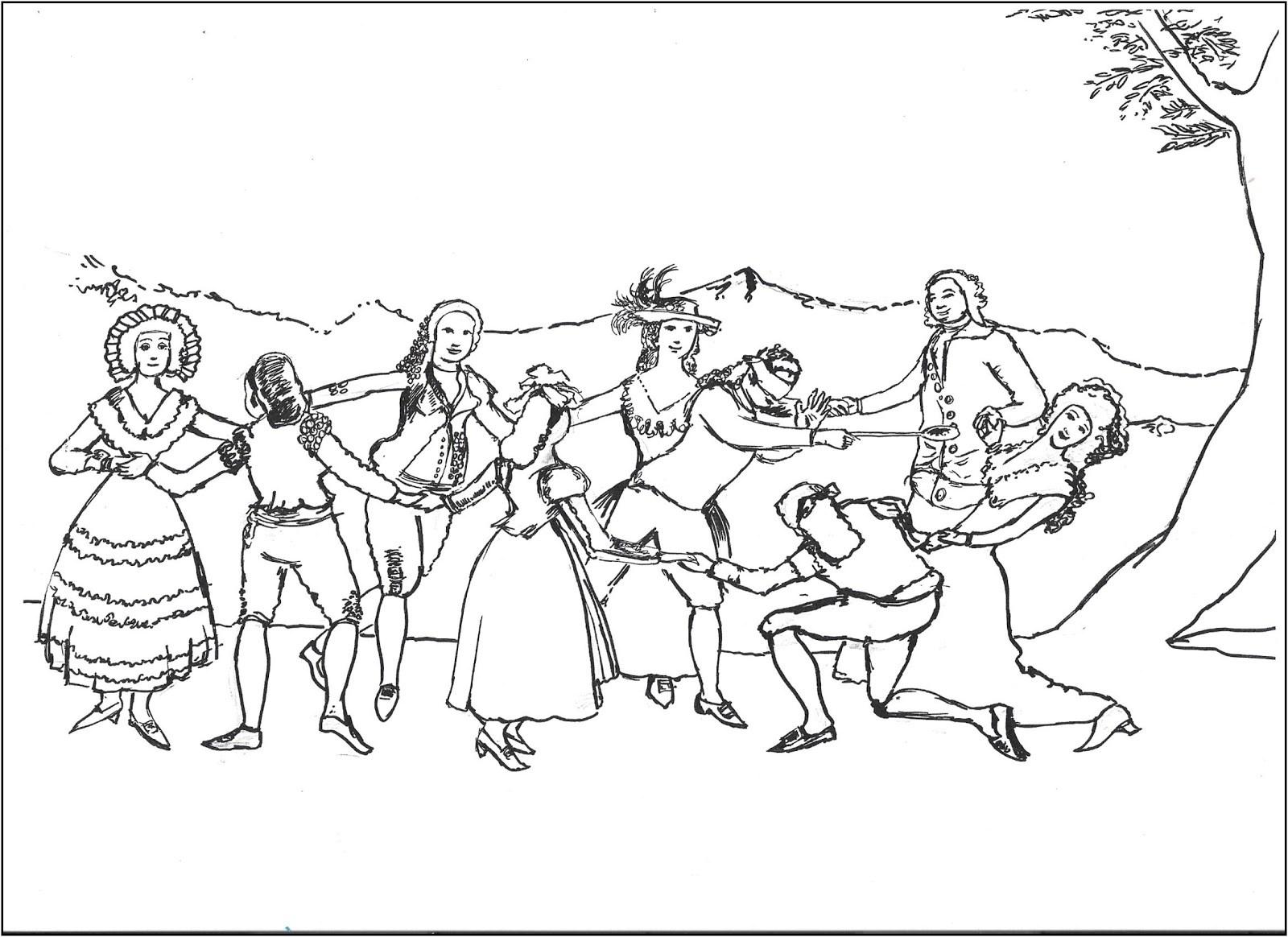 Dibujos De Pinturas Para Colorear: Goya Para Aprender Y Colorear